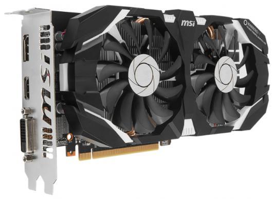 Видеокарта 6144Mb MSI GeForce GTX 1060 6GT OC PCI-E 192bit GDDR5 DVI HDMI DP HDCP Retail