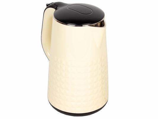 Чайник ENDEVER KR-238S 2300 Вт бежевый 1.7 л металл/пластик endever kr 306g