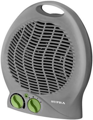 Тепловентилятор Supra TVS-220F-2 2000 Вт ручка для переноски вентилятор серый