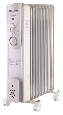Масляный радиатор Supra ORS-09-P2 2000 Вт белый