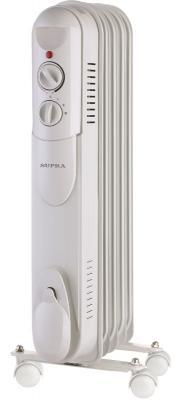 все цены на Масляный радиатор Supra ORS-05-S1 1000 Вт белый в интернете