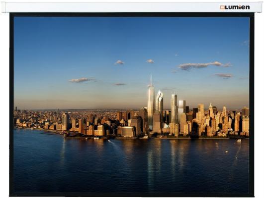 Экран настенный Lumien Master Picture 305x229 см Matte White FiberGlass LMP-100112 lmp 100112 настенный экран lumien master picture 229х305 см matte white fiberglass черн кайма по периметру воз сть потолочного крепления 4 3