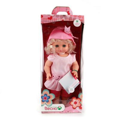 Кукла ВЕСНА Инна 49 49 см со звуком говорящая В2257/о цена 2017