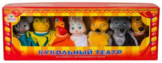 Купить Кукольный театр ВЕСНА По сказкам №2 7 предметов В2800, унисекс