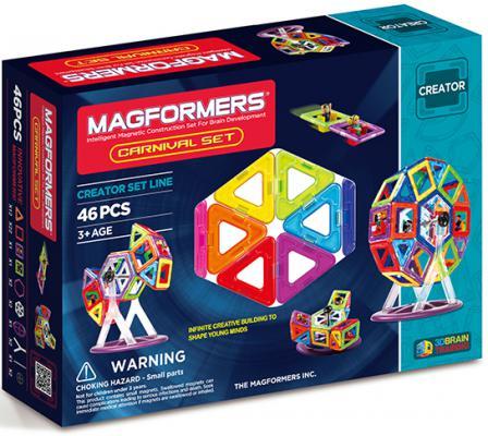 купить Магнитный конструктор Magformers Carnival Set 46 элементов 63074/703001 дешево