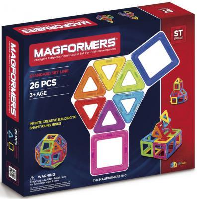 Магнитный конструктор Magformers 63087/701004 26 элементов