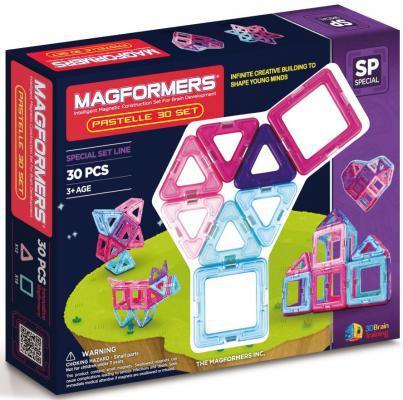 Магнитный конструктор Magformers Pastelle 30 элементов 63097/704002 цена