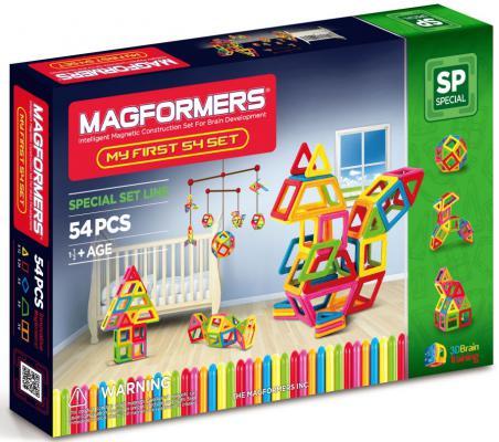 Магнитный конструктор Magformers My First 54 элемента 63108/702002