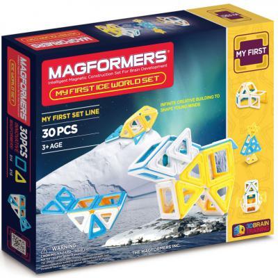 Магнитный конструктор Magformers Ice World 30 элементов 63136/702003 магнитный конструктор magformers space treveller set 35 элементов 703007