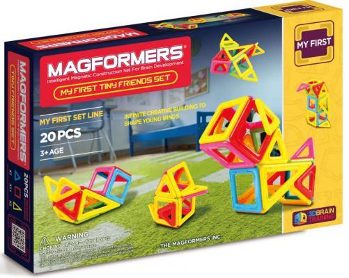 Магнитный конструктор Magformers Tiny Friends 20 элементов 63143/702004 магнитный конструктор magformers space treveller set 35 элементов 703007