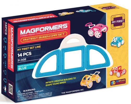 Магнитный конструктор Magformers My First Buggy 14 элементов 63146/702007