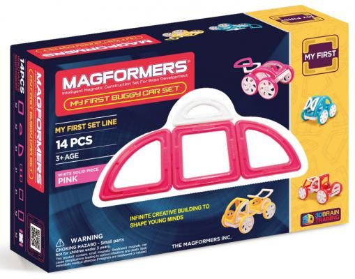 Магнитный конструктор Magformers My First Buggy 14 элементов 63147/702008 my first eng adventure starter tb