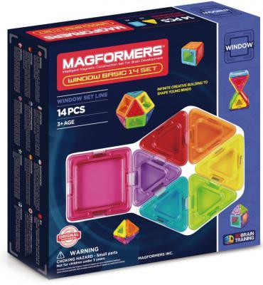 Магнитный конструктор Magformers Window Basic 14 элементов 714001