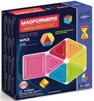Магнитный конструктор Magformers Window Inspire 14 элементов 63116 magformers магнитный конструктор window inspire 30 set