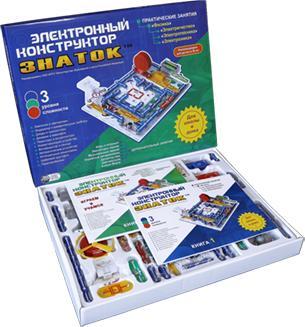 Конструктор Знаток 999 схем+школа