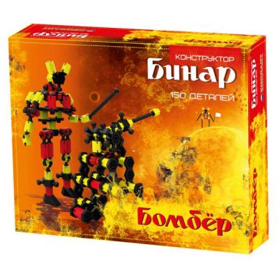 Конструктор Биплант Бинар Бомбер 150 элементов 11072 биплант бинар бомбер 150 деталей 11072