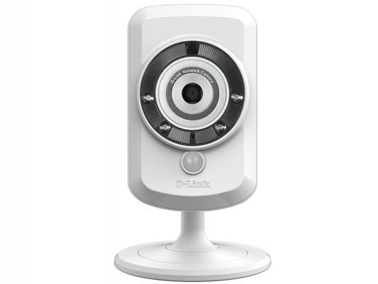 """Камера IP D-Link DCS-942L/B2A CMOS 1/5"""" 640 x 480 H.264 MJPEG MPEG-4 RJ-45 LAN Wi-Fi белый"""