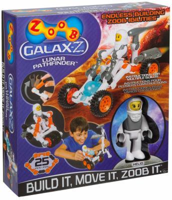 Конструктор ZOOB Galax-z Lunar Pathfinder 25 элементов 160210-3 zoob конструктор zoob racer z car designer 76 деталей