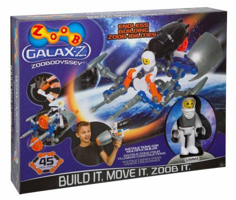 Конструктор ZOOB Galax-z Odyssey 45 элементов 160220-3 zoob конструктор zoob racer z car designer 76 деталей