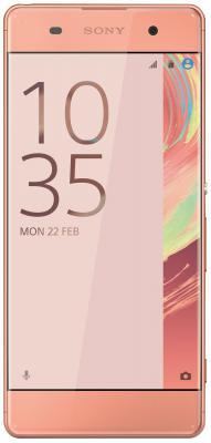 "Смартфон SONY Xperia XA золотистый розовый 5"" 16 Гб NFC LTE Wi-Fi GPS 3G F3111"