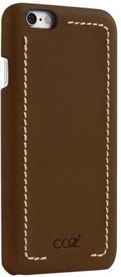 Накладка Cozistyle Leather Wrapped Case для iPhone 6S Plus коричневый CLWC6+018