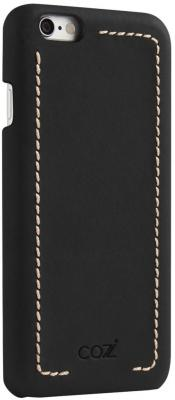 Накладка Cozistyle Leather Wrapped Case для iPhone 6S чёрный CLWC6010 gumai silky case for iphone 6 6s black