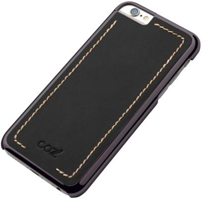 Чехол Cozistyle Leather Chrome Case для iPhone 6s черный CLCC61020