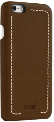 Накладка Cozistyle Leather Wrapped Case для iPhone 6S коричневый CLWC6018