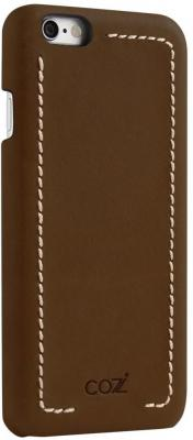 Накладка Cozistyle Leather Wrapped Case для iPhone 6S Plus коричневый CLWC6+012