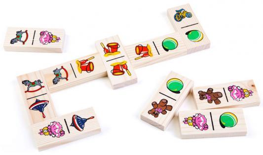 Настольная игра Томик домино Игрушки 5555-3