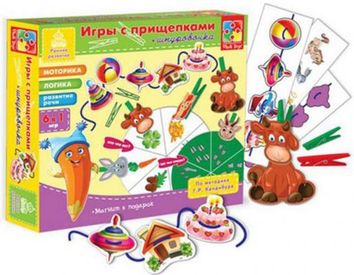 """Настольная игра Vladi toys развивающая """"Животные"""" VT1604-01 VT1502-05"""