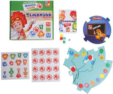 Настольная игра Vladi toys ходилка Фикси Телевизор VT2108-02