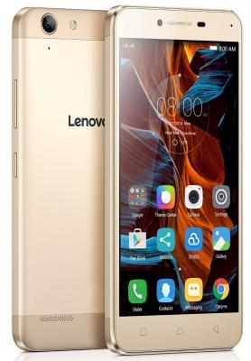 "Смартфон Lenovo Vibe K5 Plus золотистый 5"" 16 Гб LTE Wi-Fi GPS PA2R0013RU"