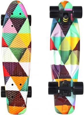 "Скейтборд Y-SCOO Fishskateboard Print 22"" RT винил 56,6х15 с сумкой Triddent 401G-T скейтборд y scoo fishskateboard print 22"