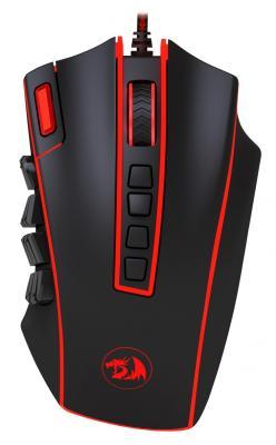 Мышь проводная DEFENDER Redragon Legend чёрный USB 70389