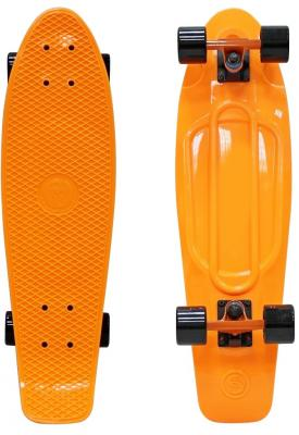 Скейтборд Y-SCOO Big Fishskateboard 27 RT винил 68,6х19 с сумкой ORANGE/black 402-O rt 402 o скейтборд big fishskateboard 27 винил 68 6х19 с сумкой orange black