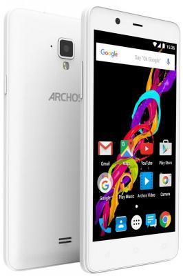 "Смартфон ARCHOS 50 Titanium 4G белый 5"" 8 Гб LTE Wi-Fi GPS 503251"