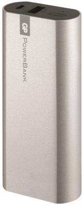Портативное зарядное устройство GP Portable PowerBank 1C02AWE 2600mAh USB белый/серебристый