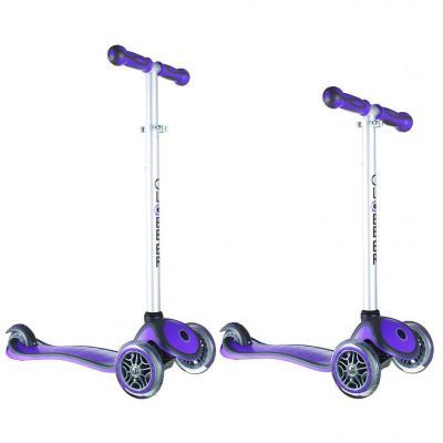 Самокат Y-SCOO RT GLOBBER My Free NEW Technology фиолетовый