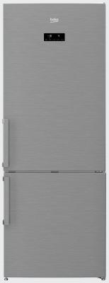 Холодильник Beko RCNE520E21ZX серебристый