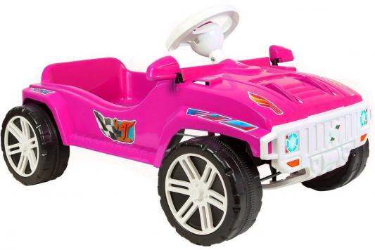Машина педальная RT RACE MAXI Formula 1 цв. розовый ОР792