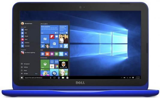 "Трансформер Dell Inspiron 3162 Celeron N3050/2Gb/500Gb/Intel HD Graphics/11.6""/IPS/HD (1366x768)/Windows 10/blue/WiFi/BT/Cam"