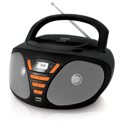 Магнитола BBK BX180U черный оранжевый