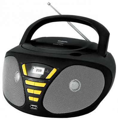 Магнитола BBK BX180U черный желтый bbk bx180u white cyan cd mp3 магнитола