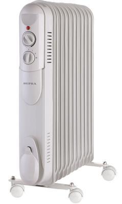 Масляный радиатор Supra ORS-11-S1 2500 Вт белый