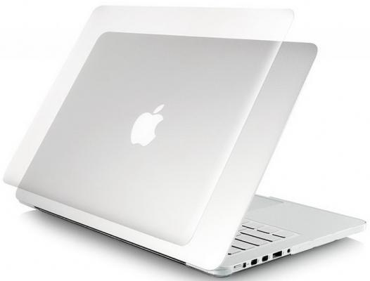 "Чехол MacBook Air 13"" Ozaki O!macworm TightSuit пластик прозрачный"
