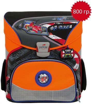 Ранец с наполнением DERDIEDAS Exclusiv Формула 1 18 л оранжевый черный