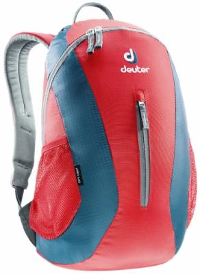 Рюкзак Deuter City Light 16 л красный синий гермомешок deuter light drypack 3 magenta 39690 5002