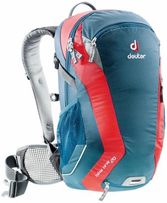 Велорюкзак Deuter Bike One 20 л синий красный