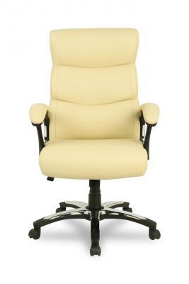 Кресло руководителя College H-8846L-1 экокожа бежевый кресло руководителя college h 8846l 1